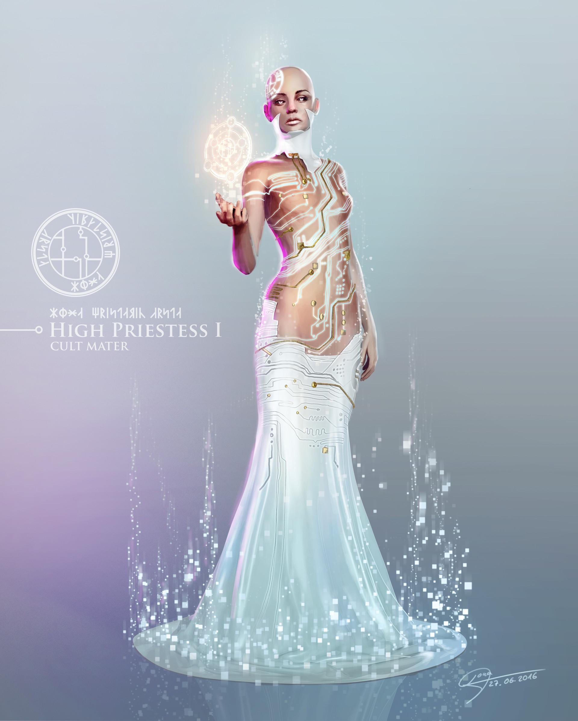 Artstation High Priestess Ilona Mencner