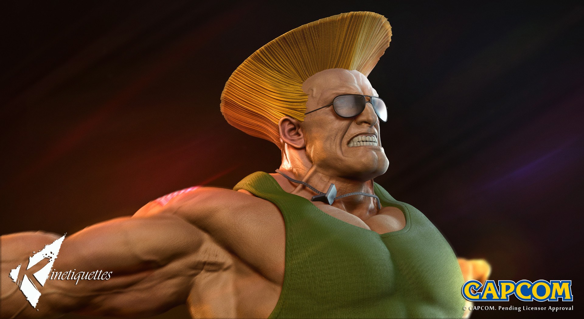 Guile with Shades