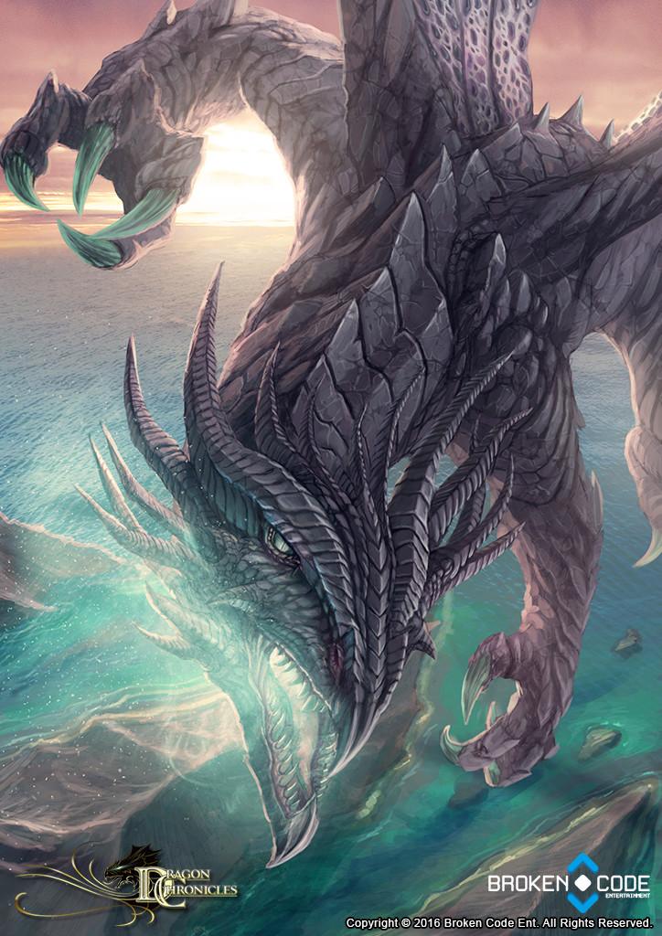 Armored Sky Dragon - Dragon Chronicles