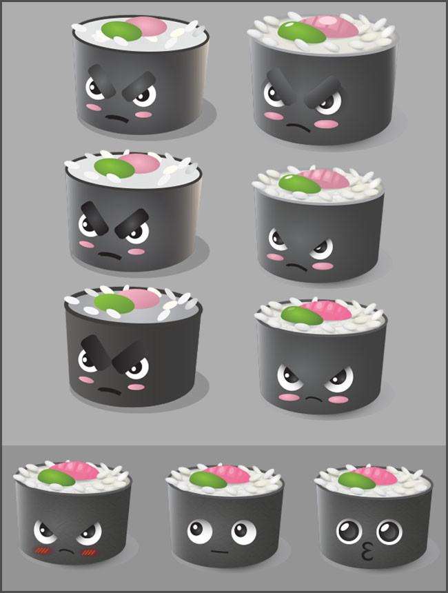 Tiia van lokven sushi portfolio slider 3