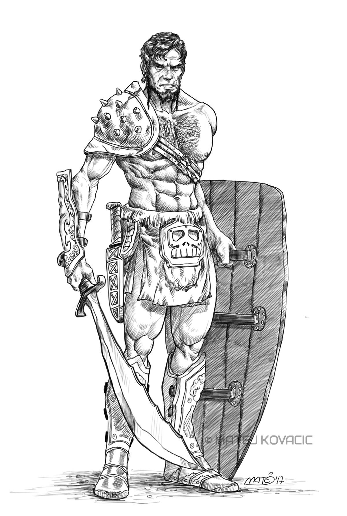 Matej kovacic gladiator by matej kovacic