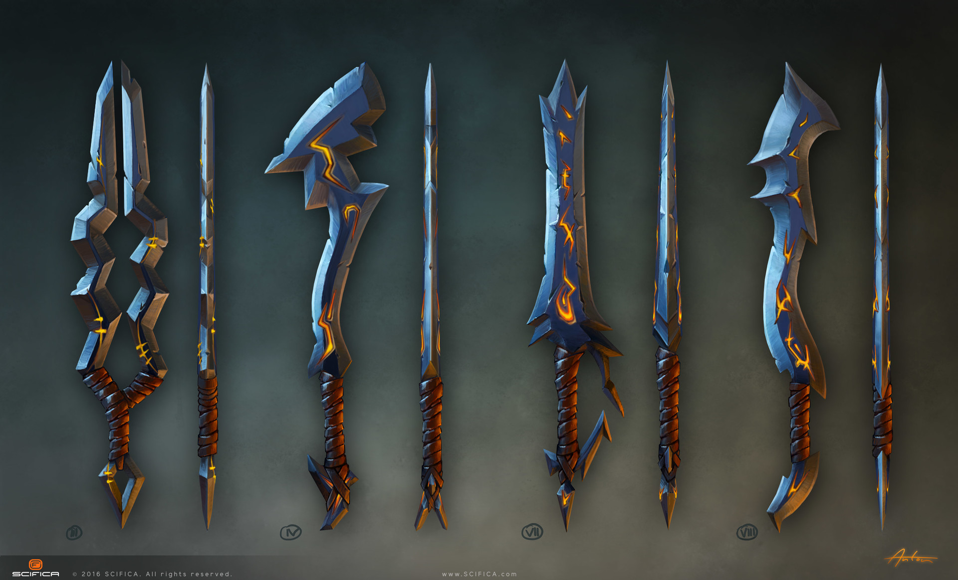 Fantasy Weapon Art