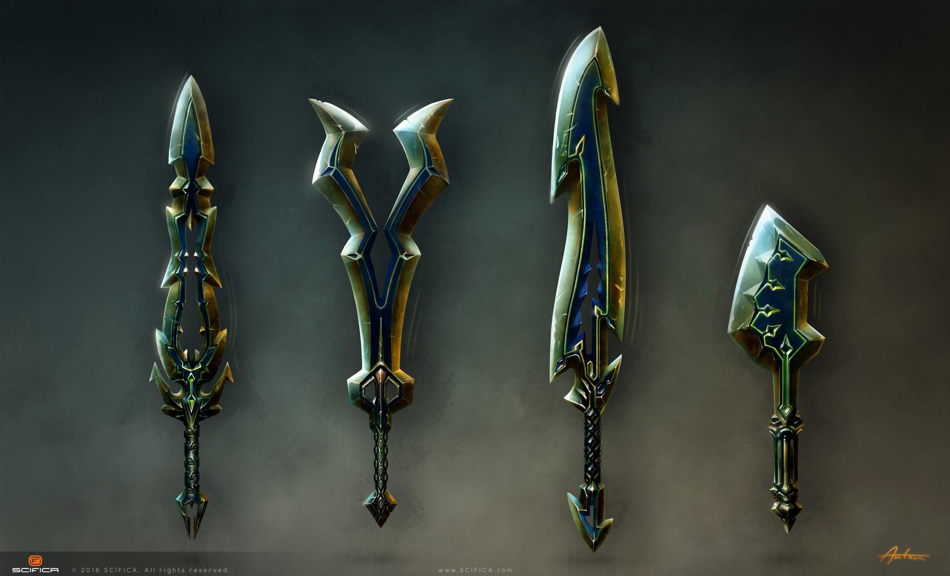Fantasy Sword Concept Art