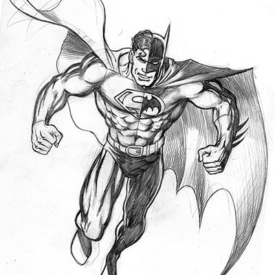 Gary barker comosite superman