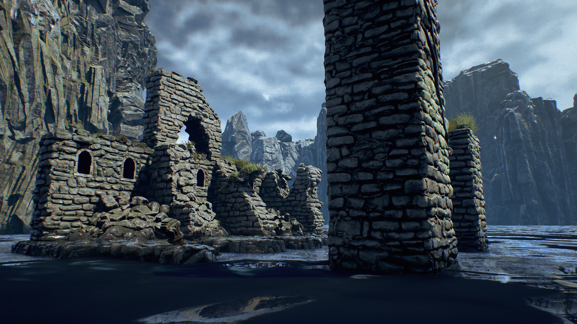 Sharur t clifftowerruins screenshot 09