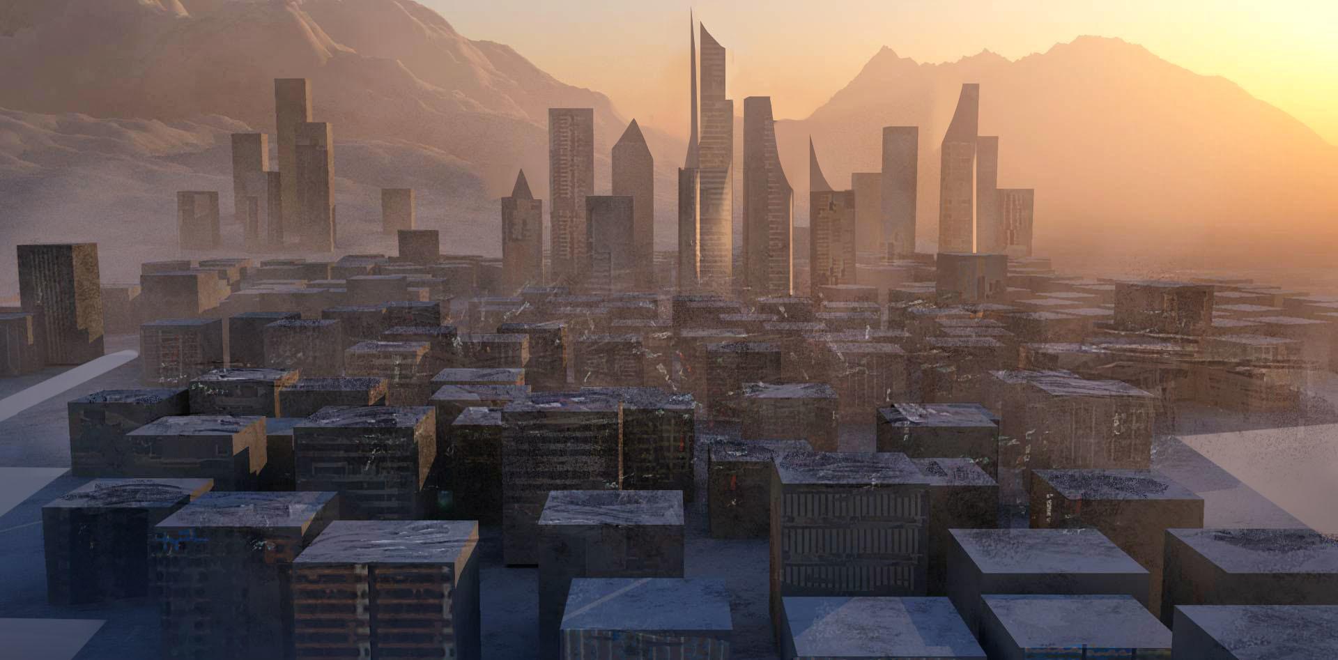 godwin akpan dystopian city