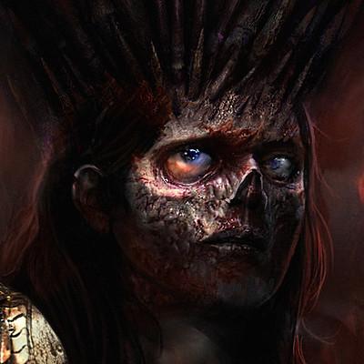 Murat gul zombie queen by muratgul