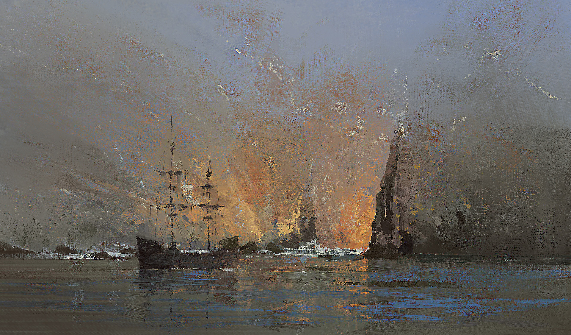 Grzegorz rutkowski cliff study 1920