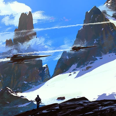 Raphael lacoste ships mountains