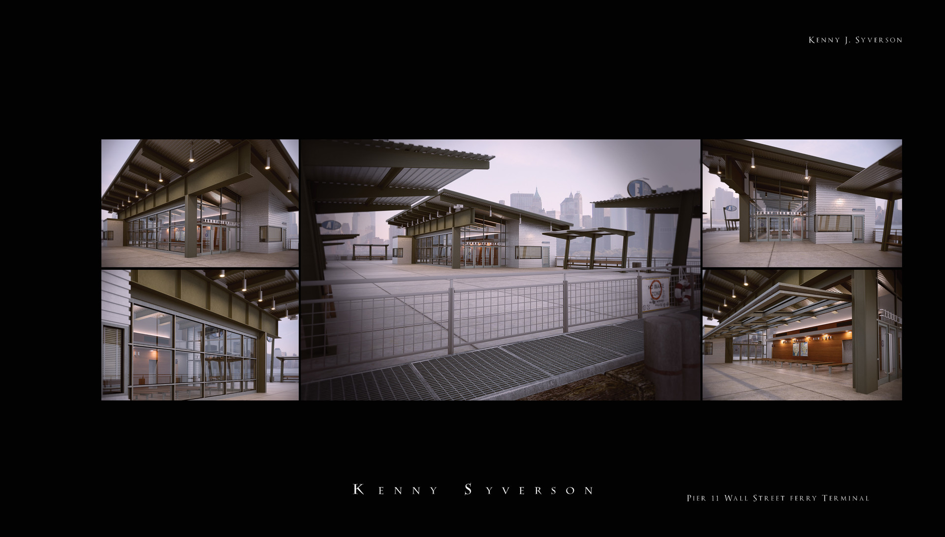 ArtStation - Pier 11 Ferry Terminal, Kenny Syverson