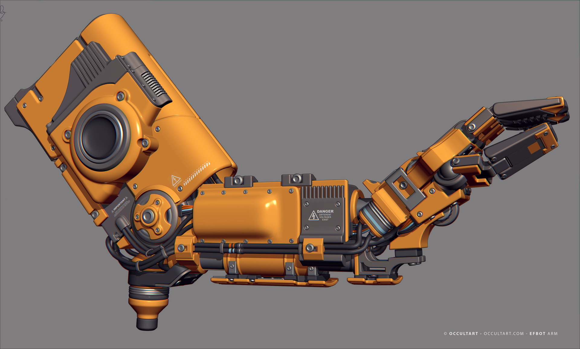 Occultart   occultart efbot yellow arm 03