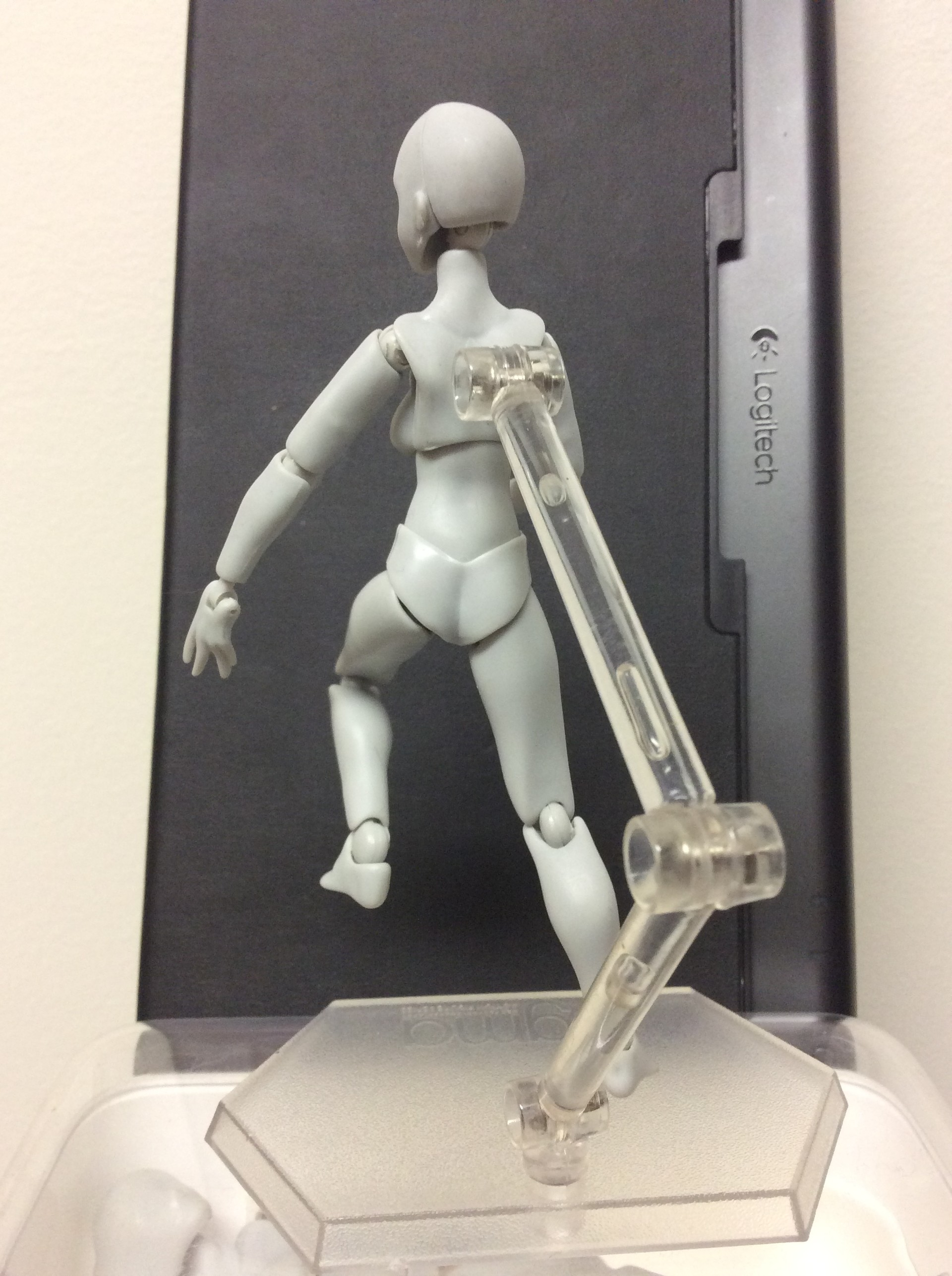 Figure pose reference (used in tandem with the other due to the support arm blocking view)