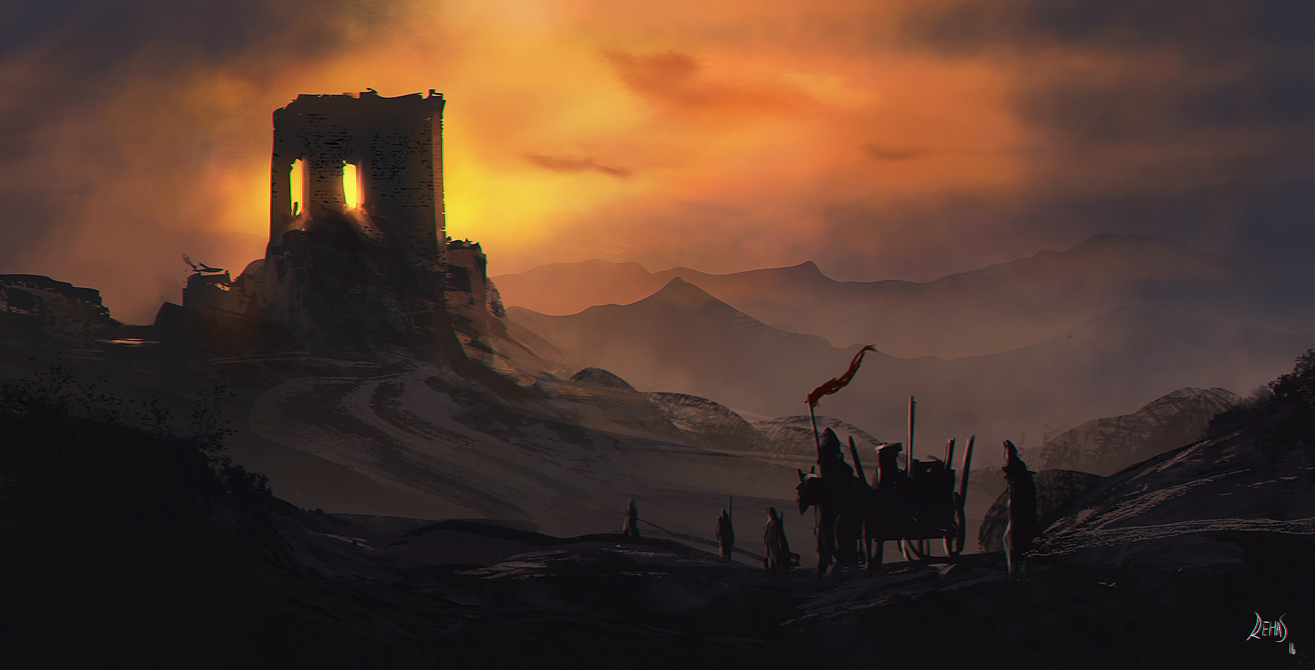 Reha sakar castle walls