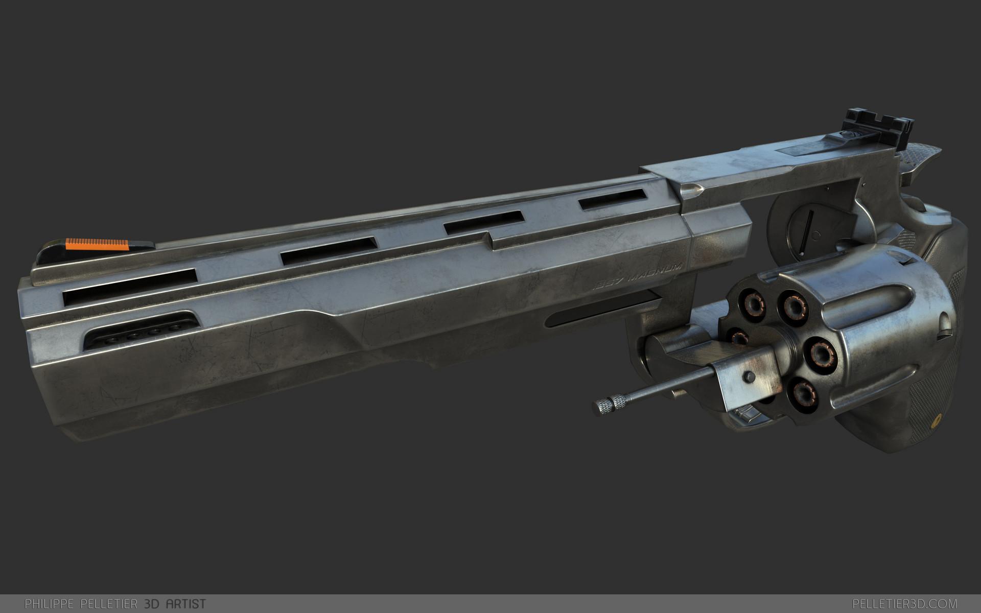 Philippe pelletier revolver 007