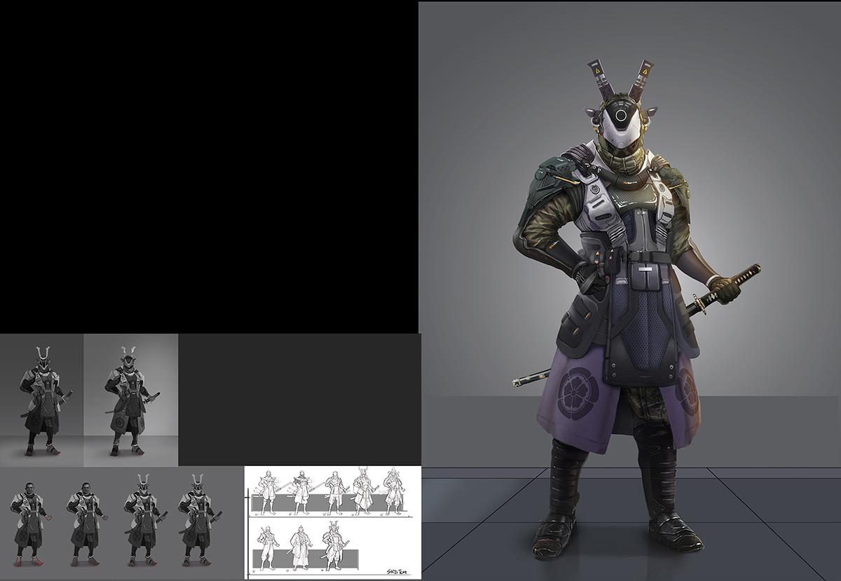 成姚 Cyber Samurai