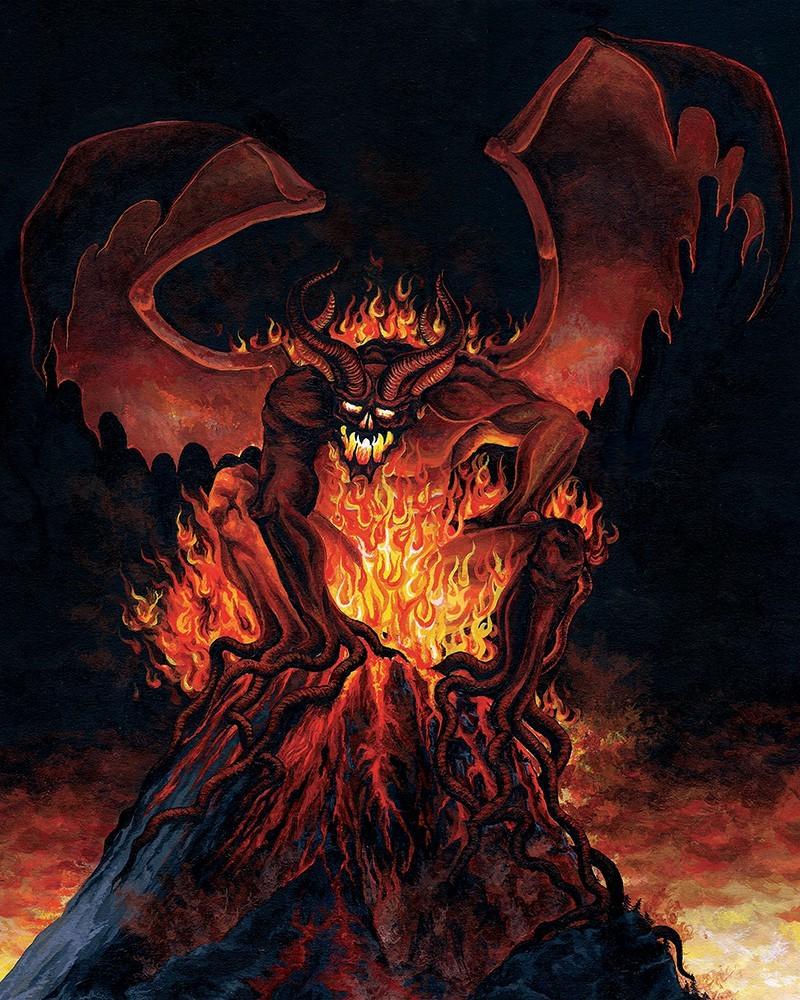 Artstation - Wrath Of Typhon - Speak From The Fire Album -6515