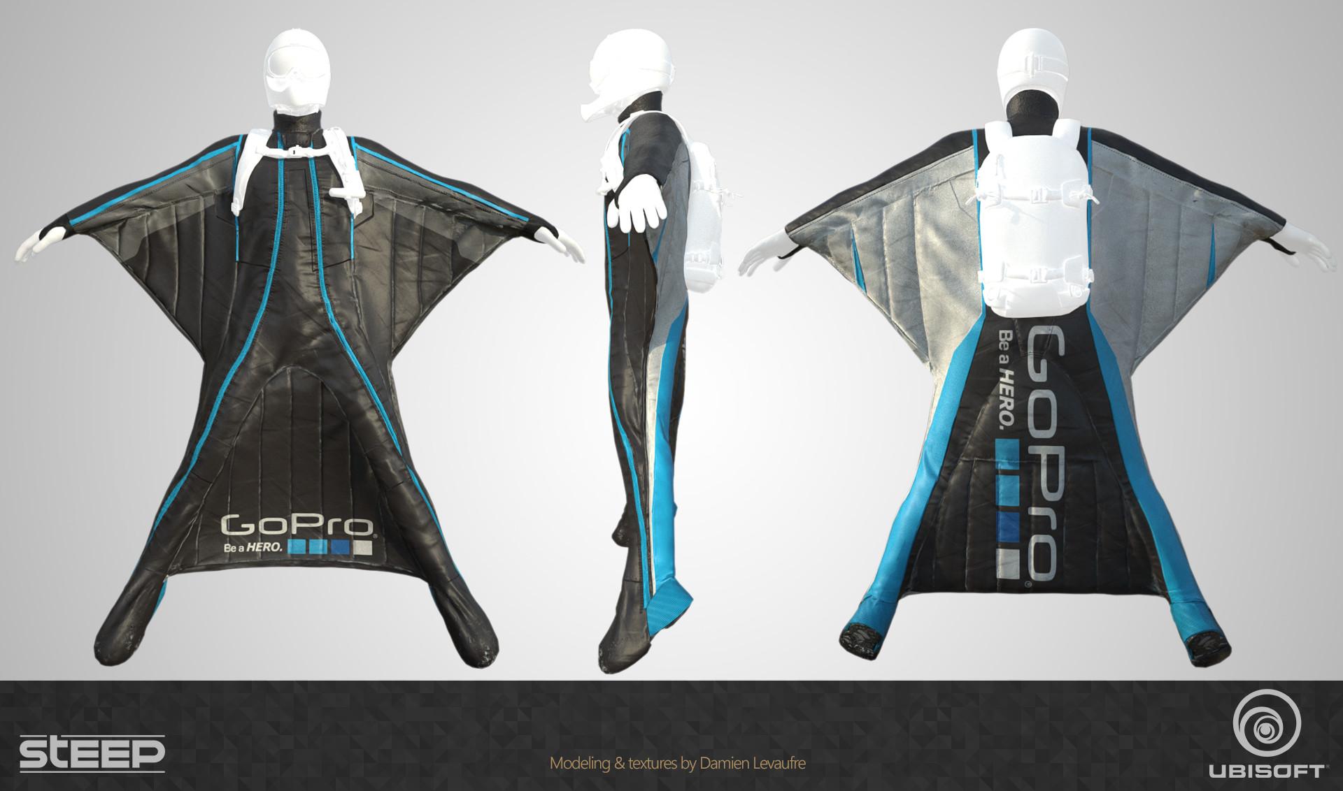Damien levaufre wingsuit gopro