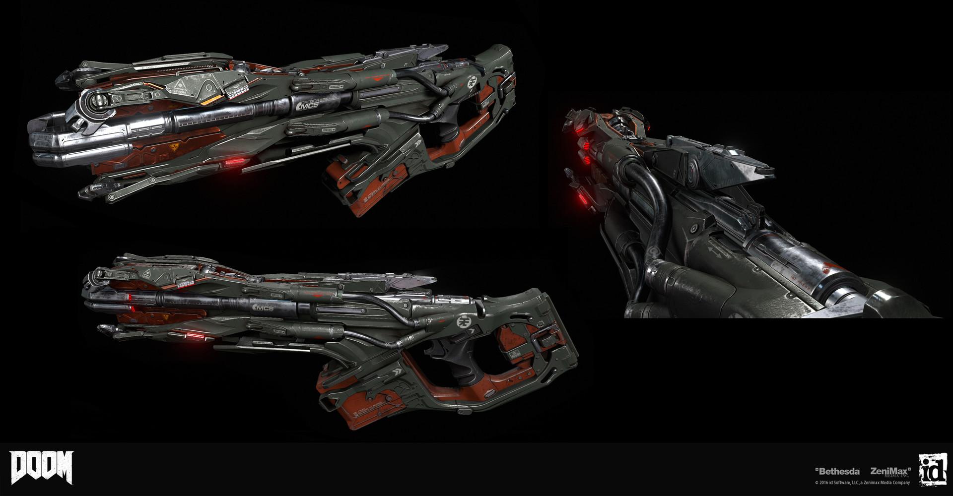 Building Guns for DOOM