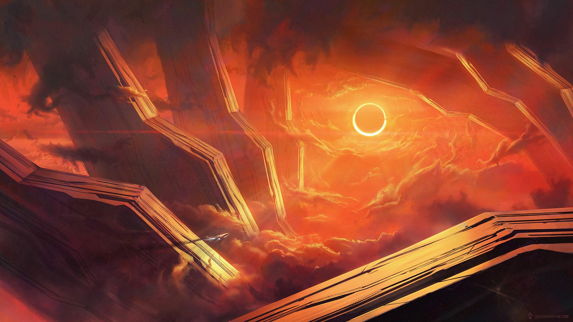 Gaetan weltzer speed painting eclipse9s