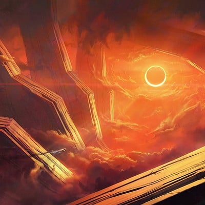 Gaetan weltzer speed painting eclipse9s