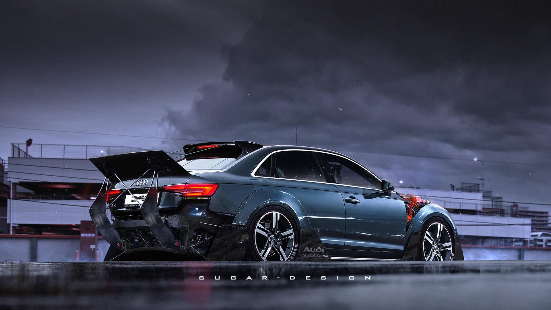 Audi A4 Rocket Bunny