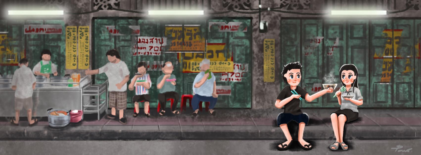 Malaink s chinatown