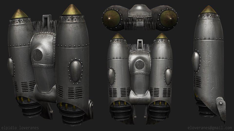 Rocketeer Boost Pack