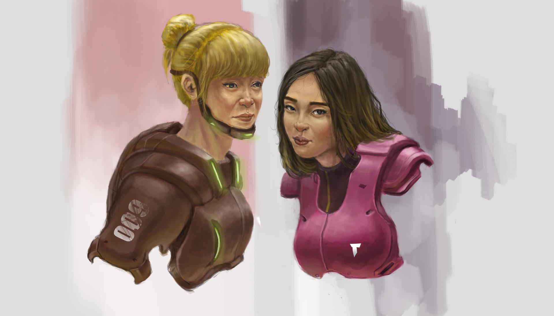 Taufiqurrahman hidayat two armor female