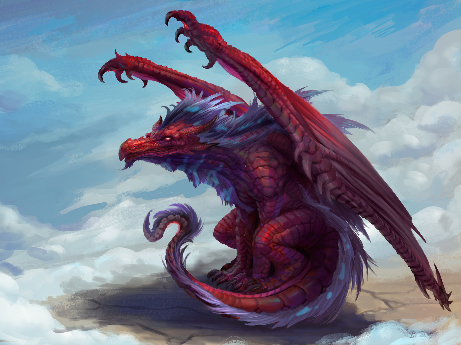 Red Dragon - Process