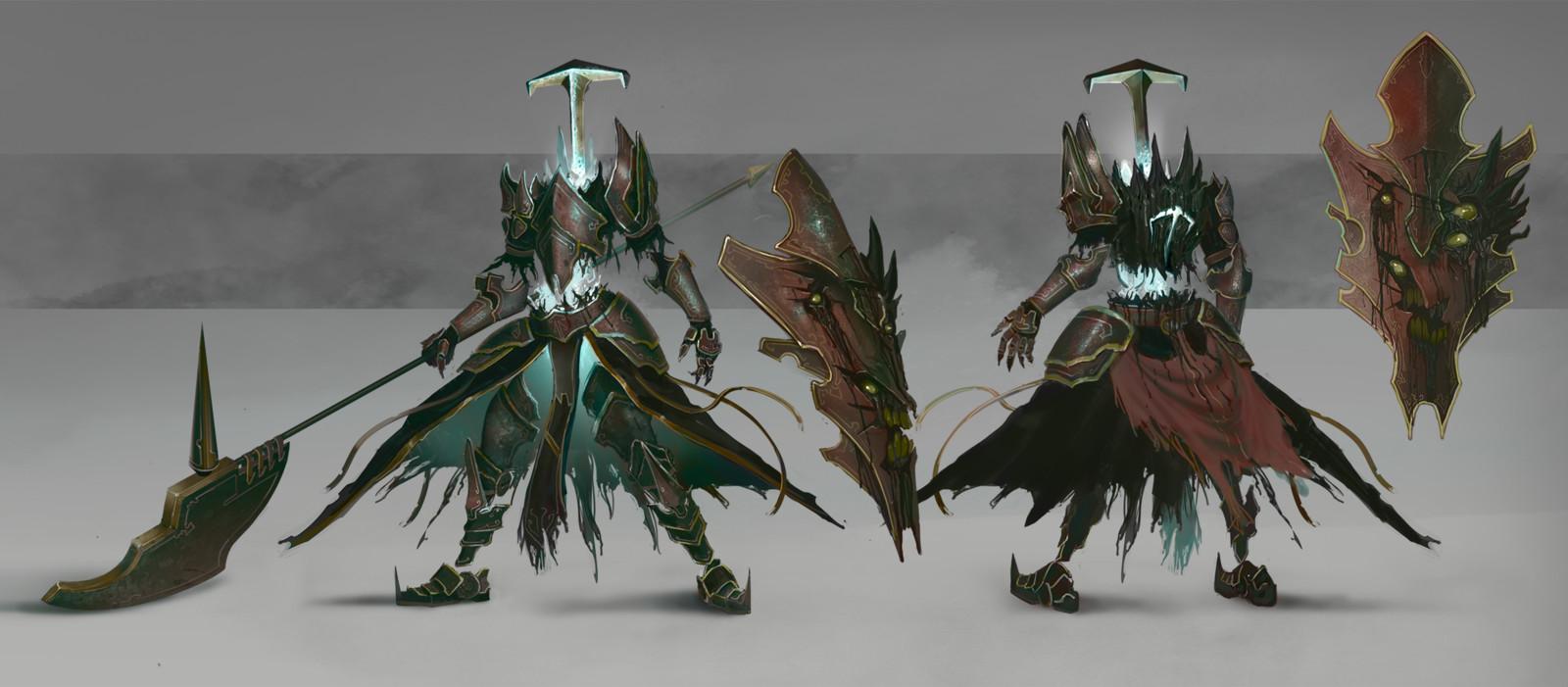 Possessed Armor Enemy