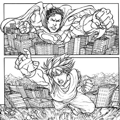 Gustavo melo superman vs goku