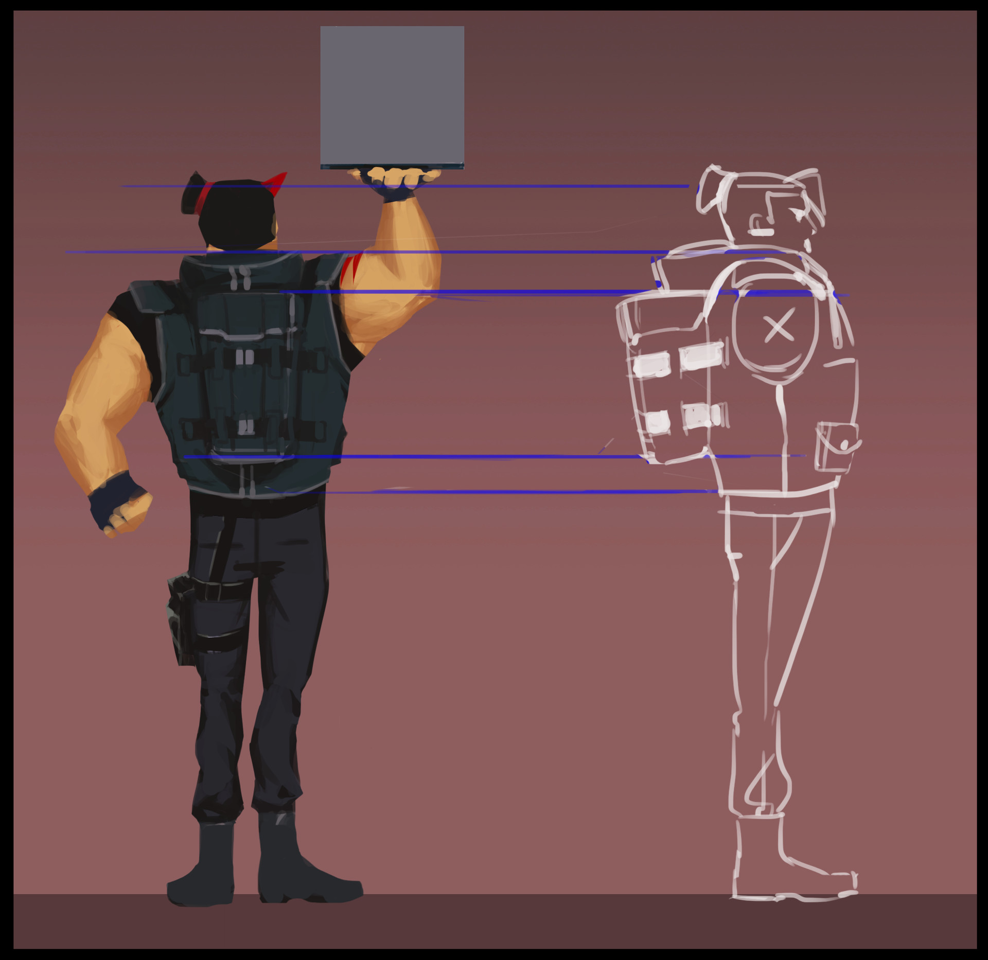 Rohan yang character concepts 02 wong back