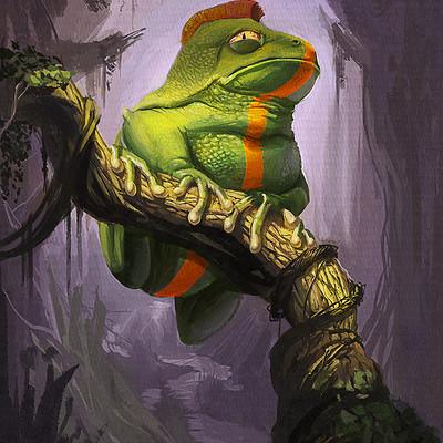 Martin fischer frog
