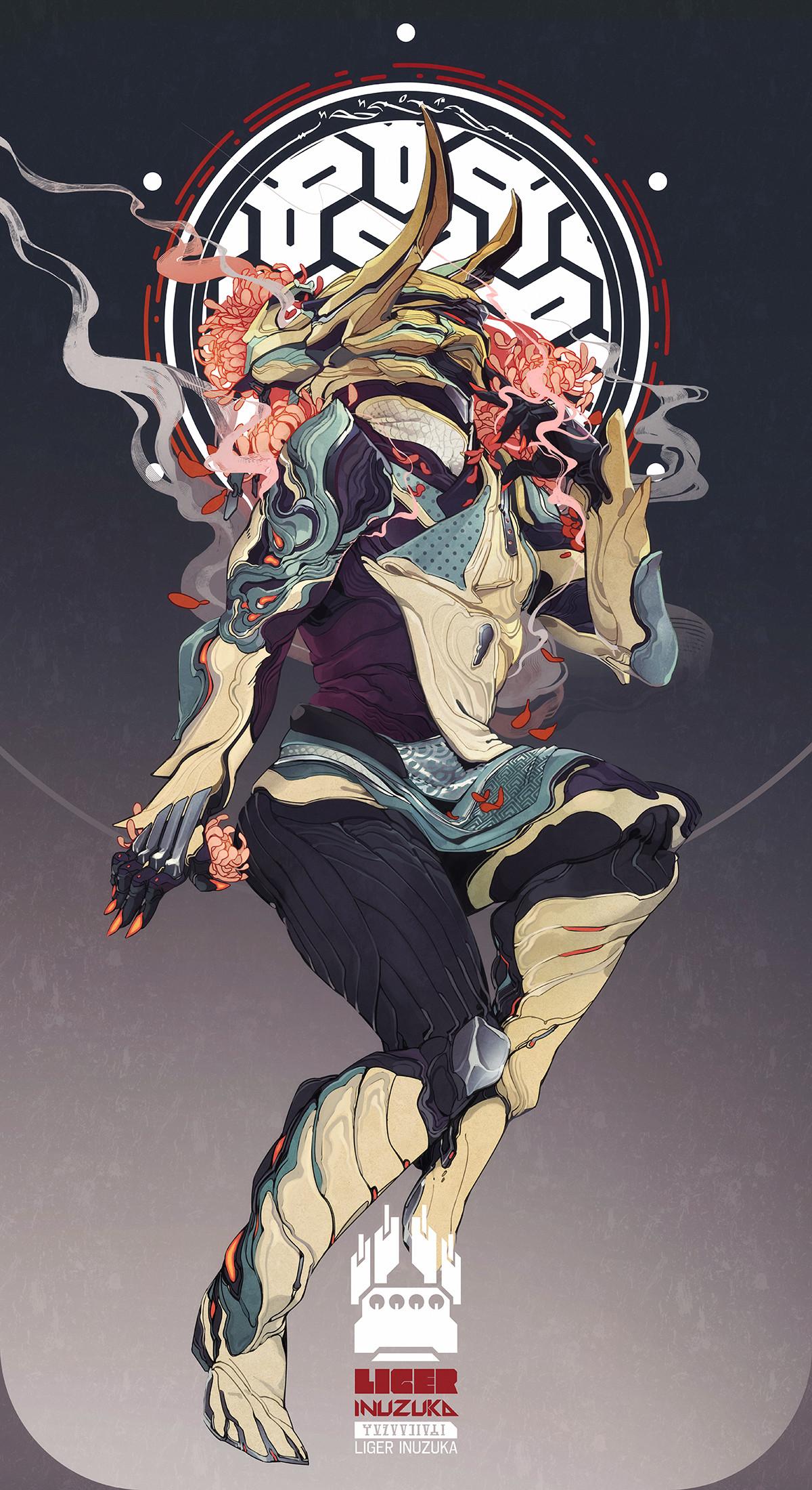 ArtStation - Warframe: Our Muse, Liger Inuzuka
