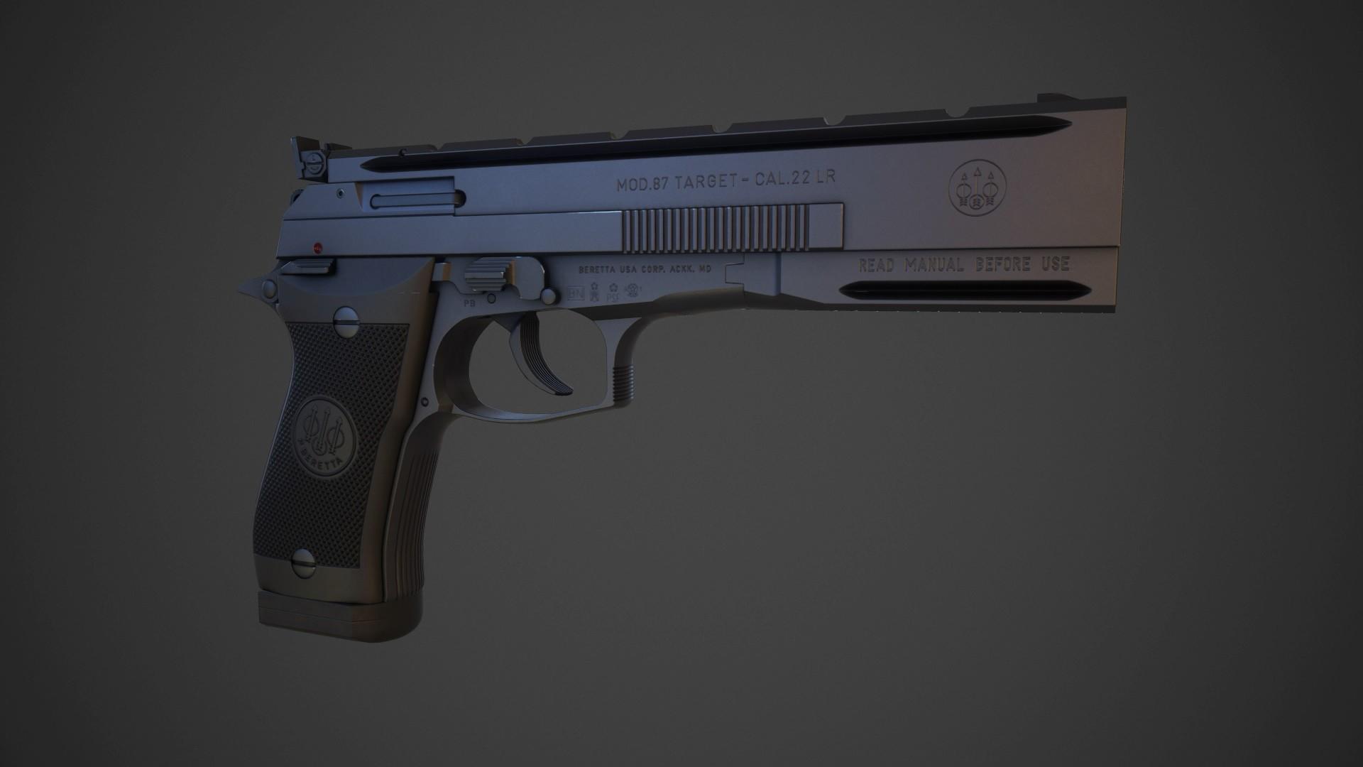Steve Jones - Beretta 87 Target