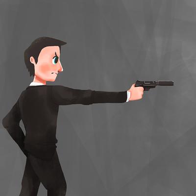 Armink s gun