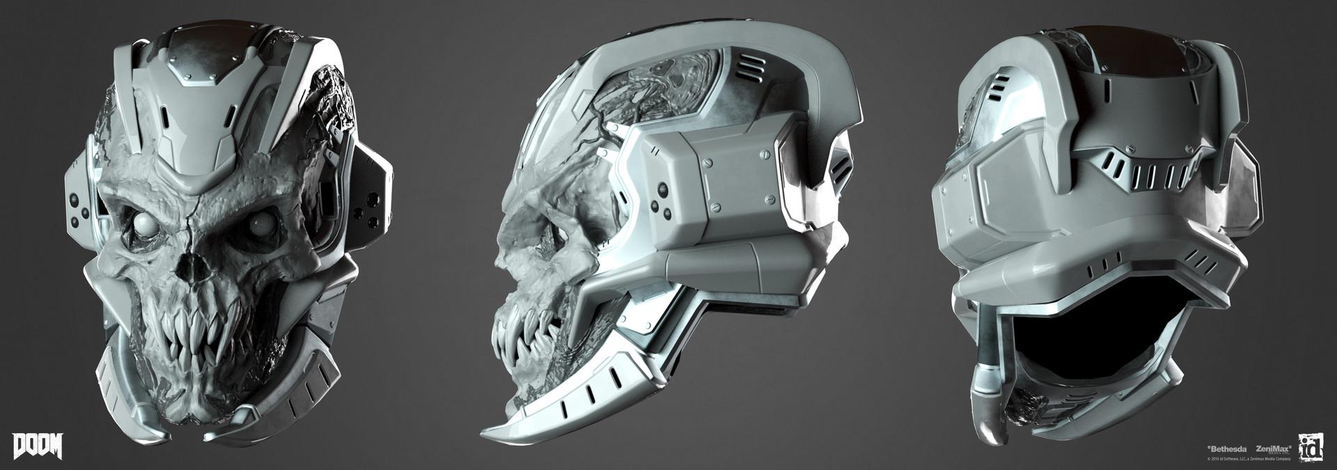 Emanuel palalic cyberdemonic helmet