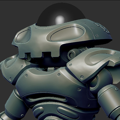 Remi benoist odd robot magnetar robot zbrushrender 1080p