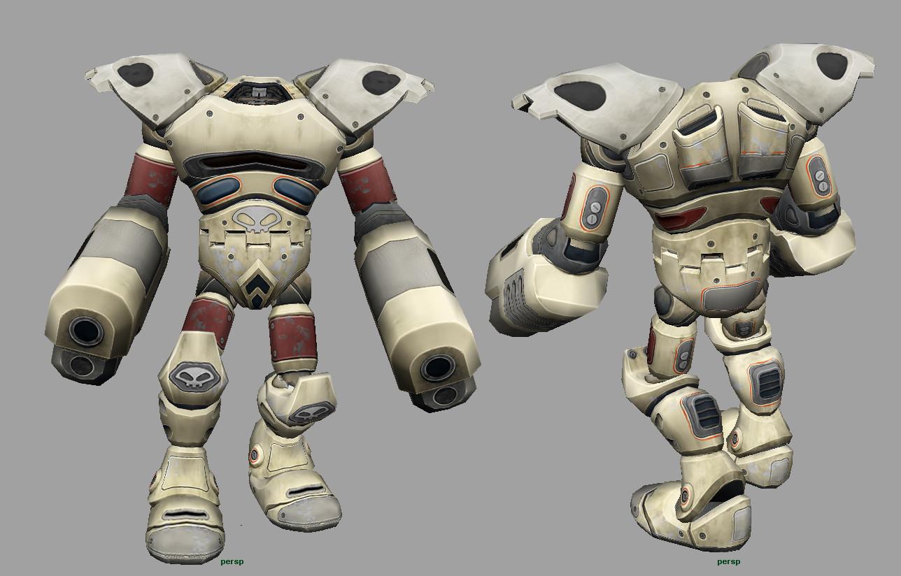 Remi benoist odd robot magnetar maya painted