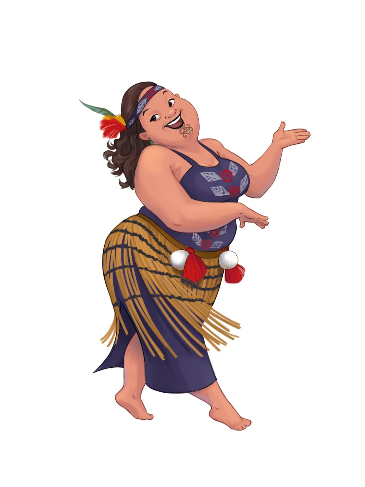 Martina Petrova Maori Girl