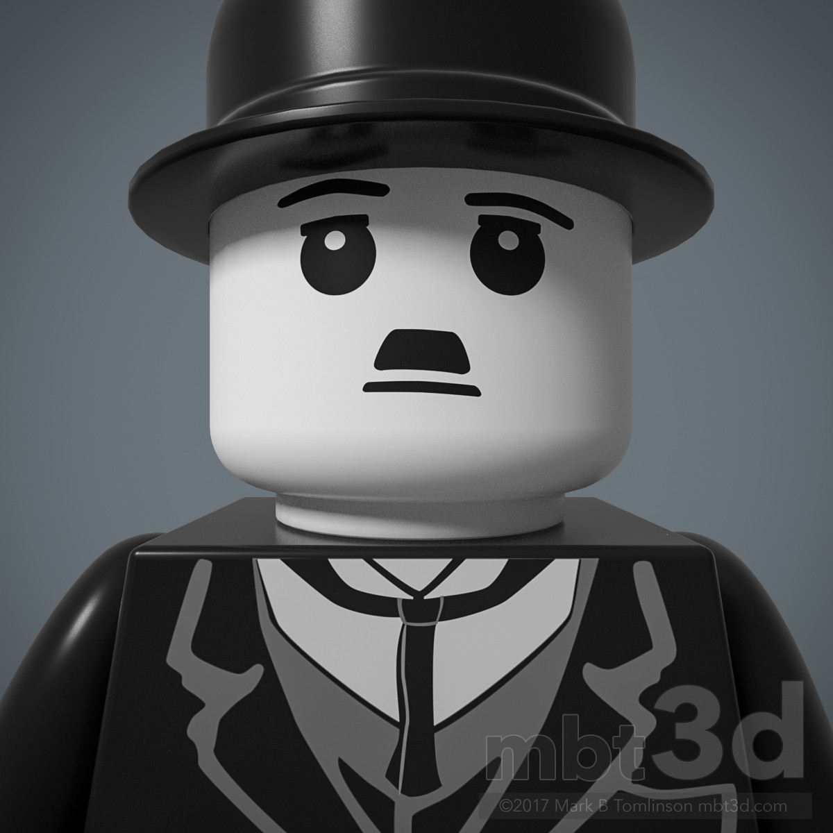 The Tramp LEGO Chaplin Minfigure