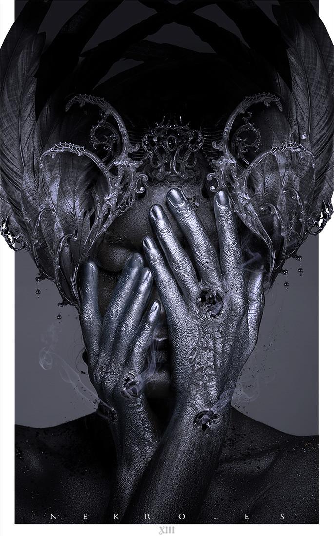 Escarbando bajo las horas brujas - Cover