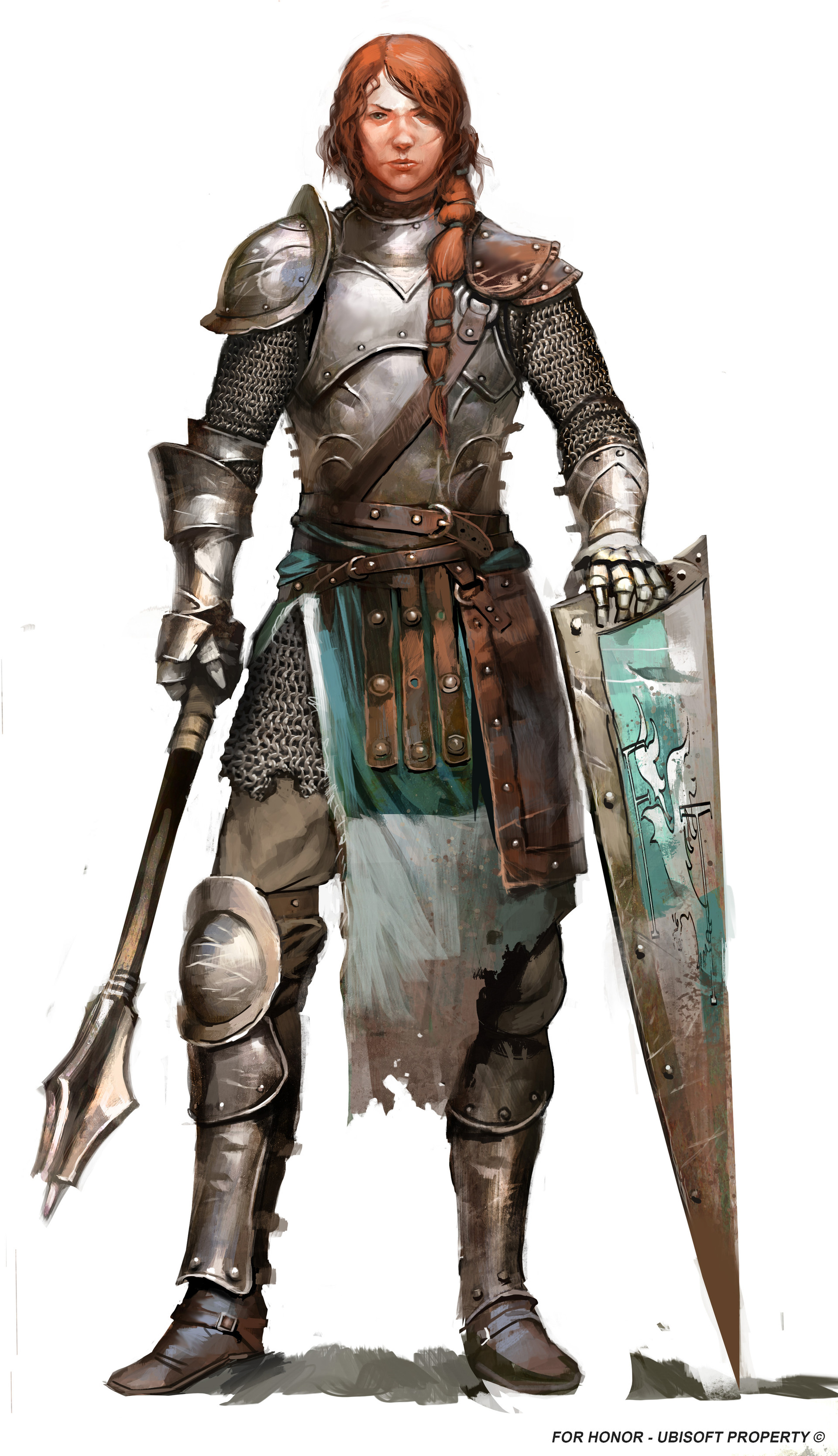 Guillaume Menuel - For Honor character concepts