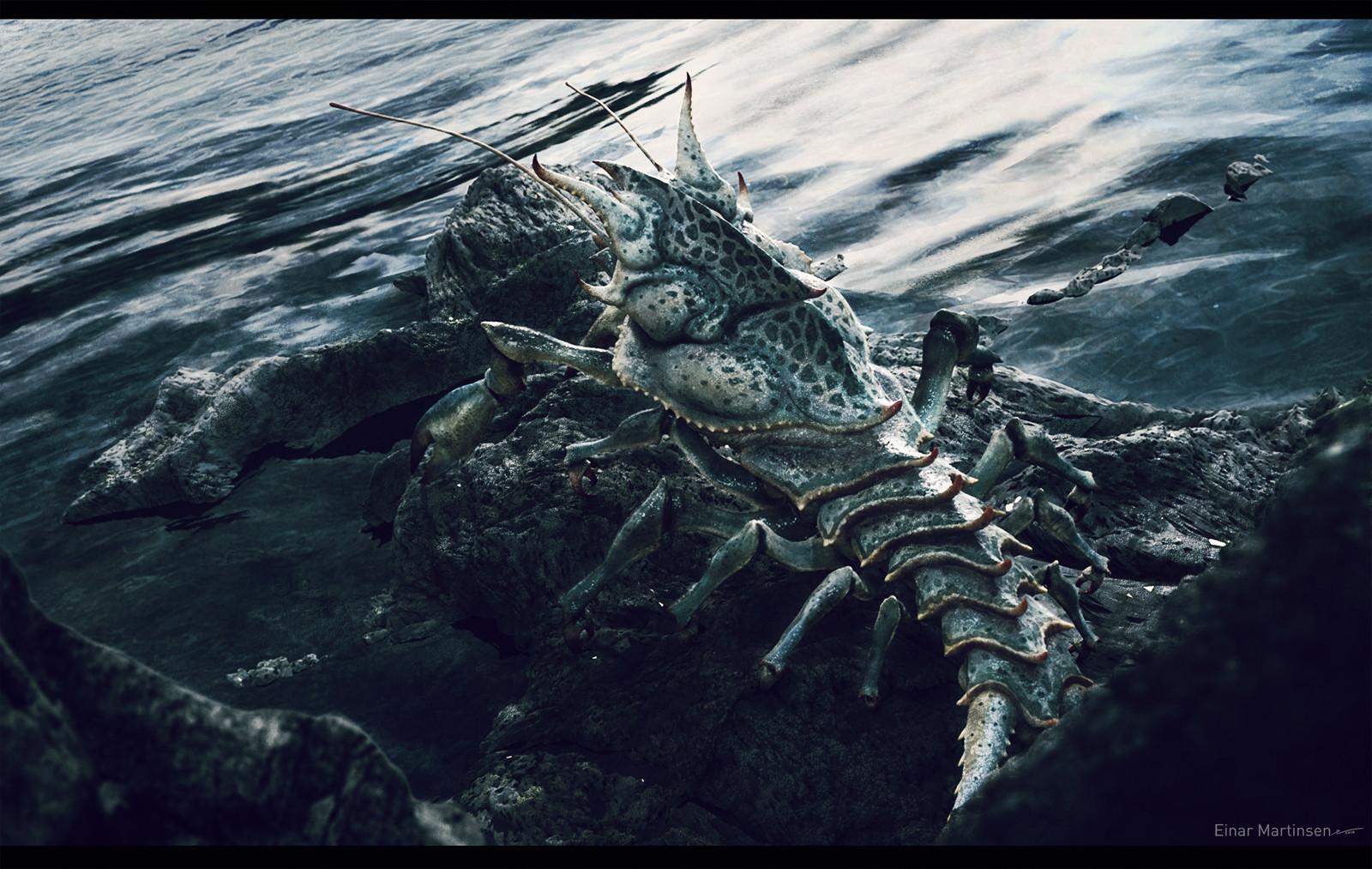Alien crab concept