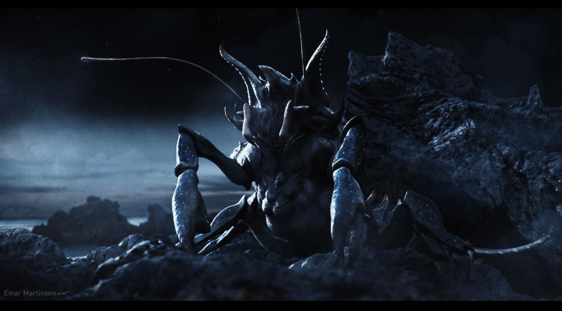 Einar martinsen alien crab einar martinsen 03