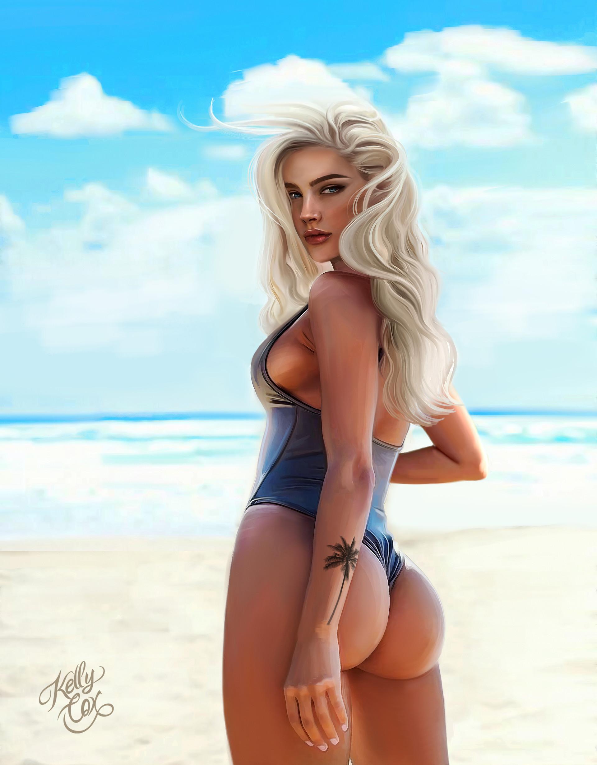Kelly cox girl beach