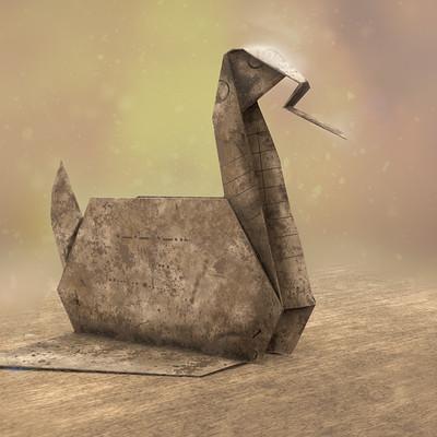 Origami: Swan