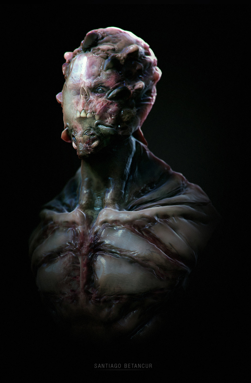 Creature Bust - 04