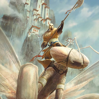Johann bodin magic card mantis rider johannbodin finalweb