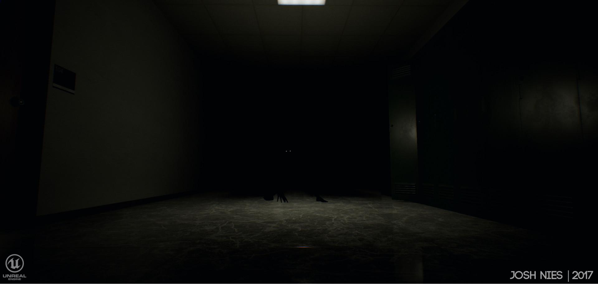 ArtStation - Horror Classroom, Joshua Nies